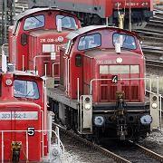 Güterloks: Drei Gewerkschaften, drei Forderungen