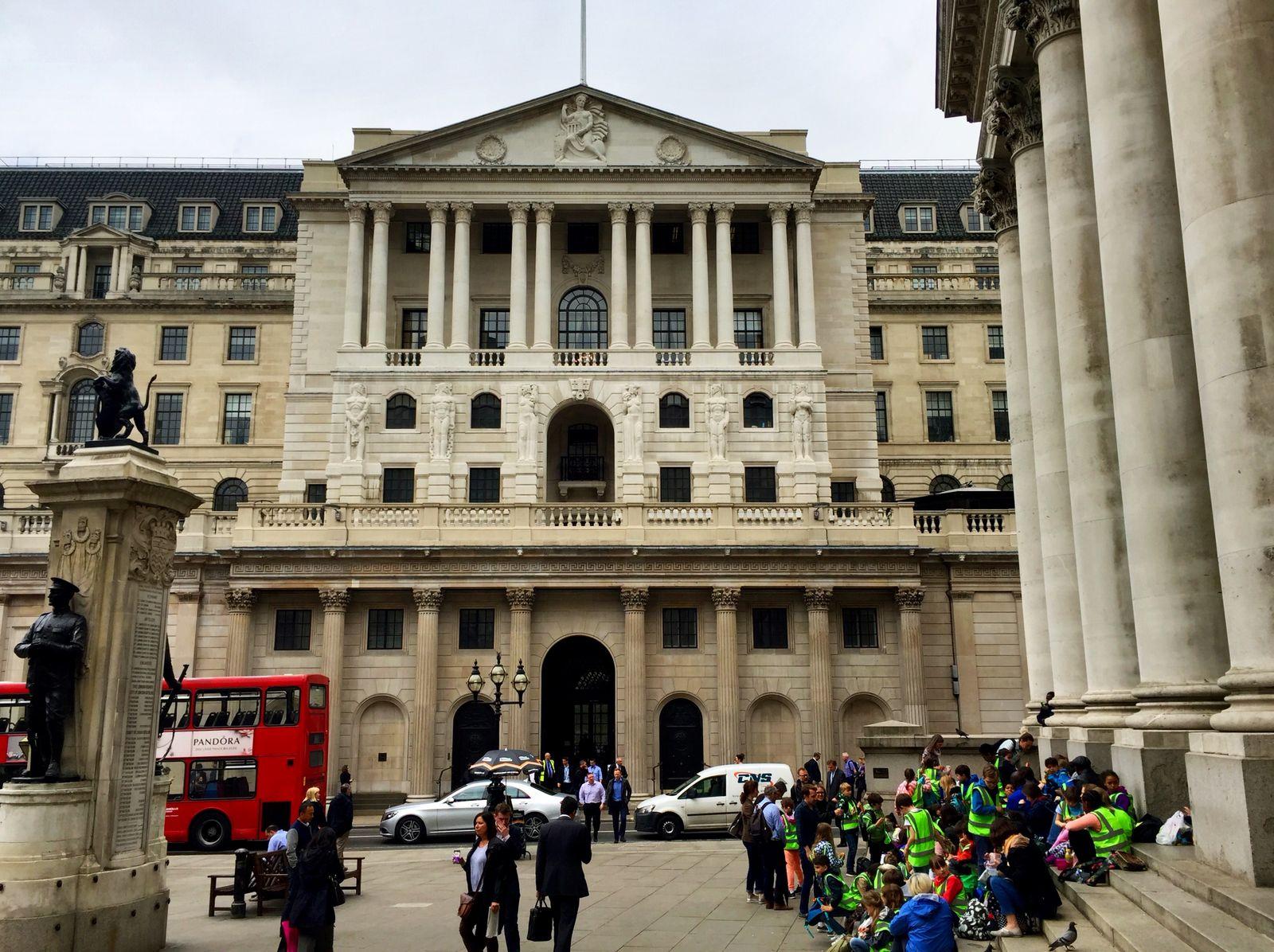 Brexit / Banken Reportage - Bank of England Zentralbank