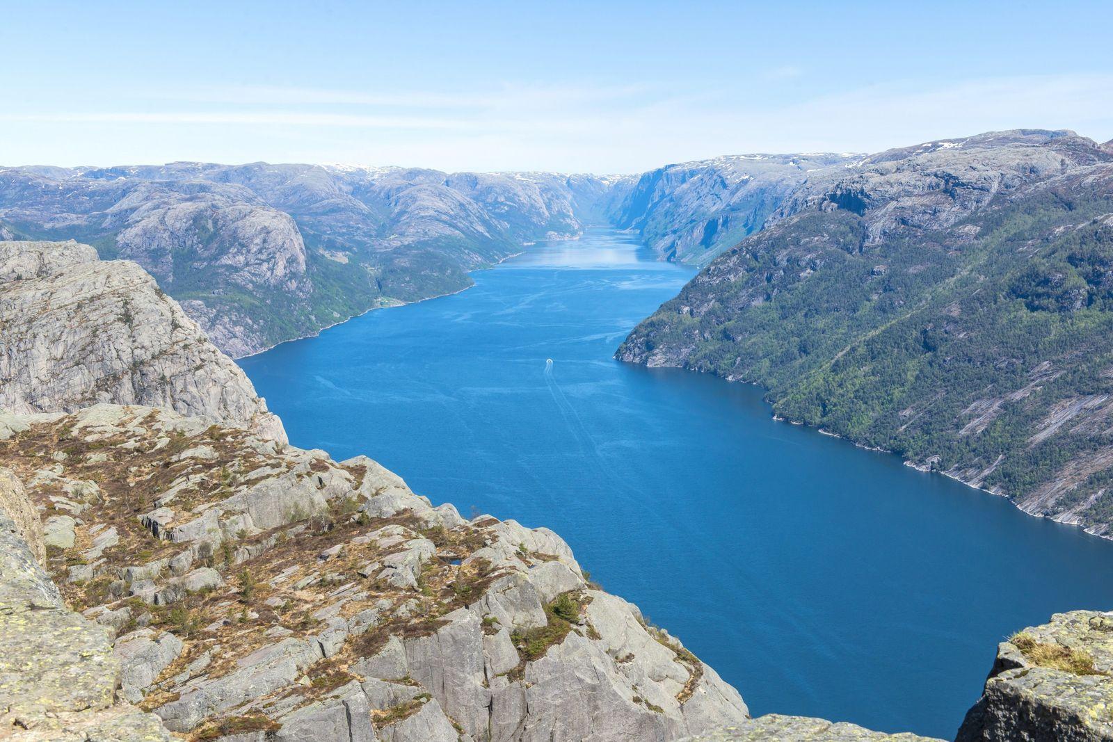 NICHT MEHR VERWENDEN! - Lysefjord/ Norwegen