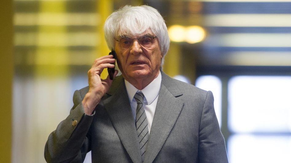Formel-1-Chef Bernie Ecclestone: Verteidiger schlagen einen Deal vor