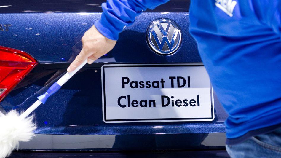 VW-Diesel-Kampagne in den USA (Aufnahme aus dem Jahr 2012)