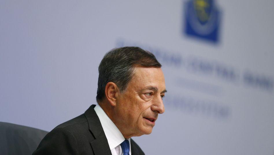 """EZB-Chef Mario Draghi: """"Es muss ein Element der Schuldenentlastung geben"""""""