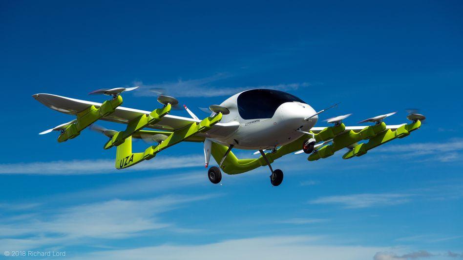 """Lufttaxi """"Cora"""": Larry Page strebt mit Kitty Hawk in die Höhe"""