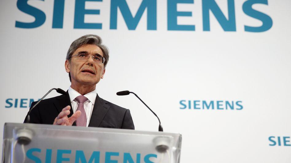 Nach dem geplatzten Verkauf der Frachtlogistiksparte will Siemens-Chef Joe Kaeser das Geschäft im Konzern behalten und neu aufstellen