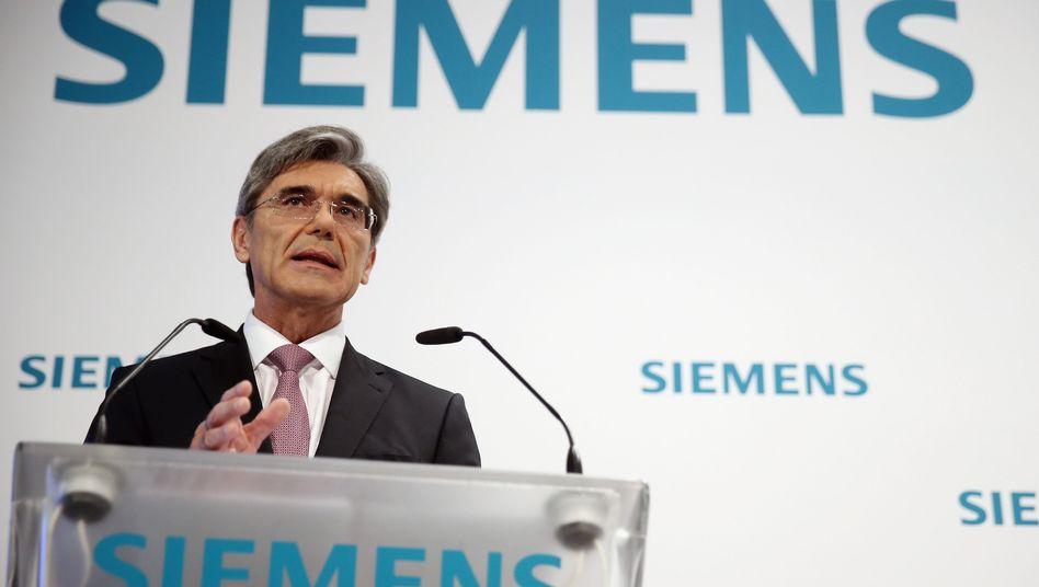 Bereitet die größte Akquisition seit dem Jahr 2007 vor: Siemens-Chef Kaeser