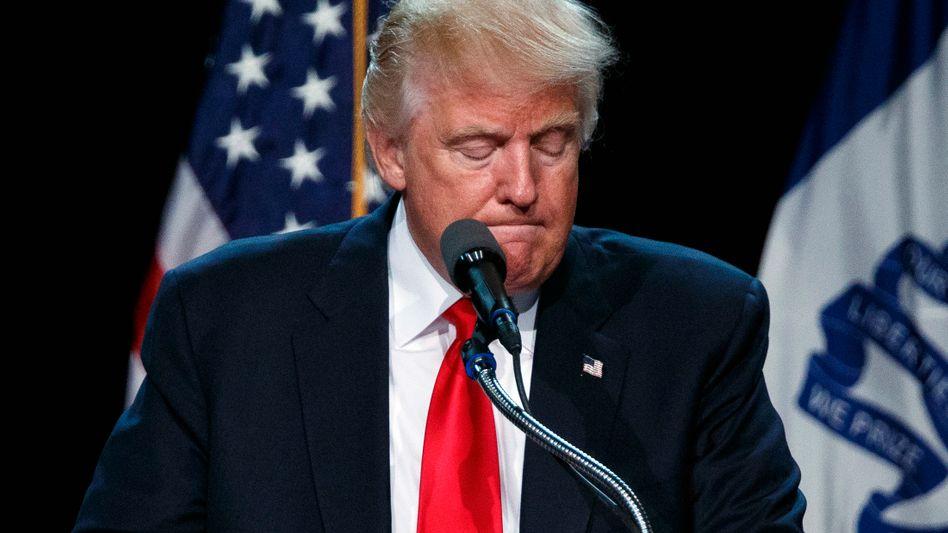 Donald Trump: Derzeit läuft es nicht so