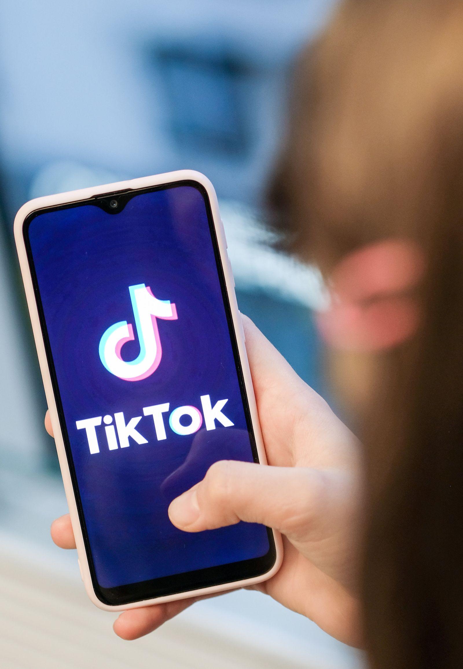 Mobile App TikTok