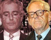 Der Vorstand der Deutschen Telekom um Ron Sommer (l.) (rechts: Nachfolger Helmut Sihler) verdiente im Jahr 2001 insgesamt 17,43 Millionen Euro