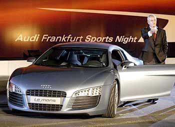 Wird demnächst von Stefan Müller unterstützt: Audi-Chef Martin Winterkorn auf der IAA