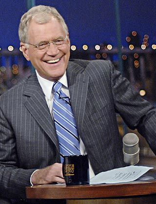 Neue Kollegen: Auch US-Late-Talker David Letterman steht in Diensten von CBS