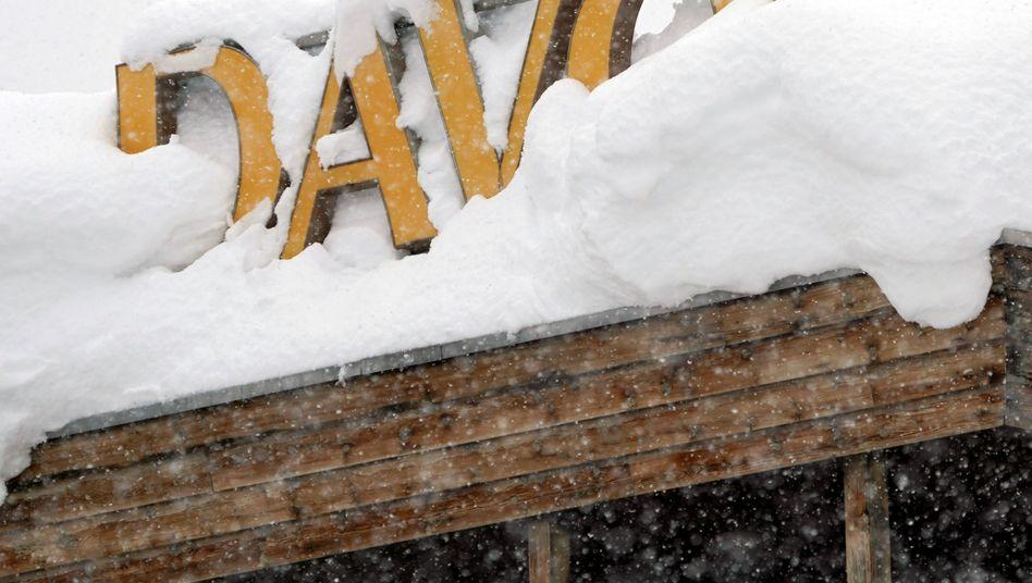 WEF in Davos: Lawinengefahr
