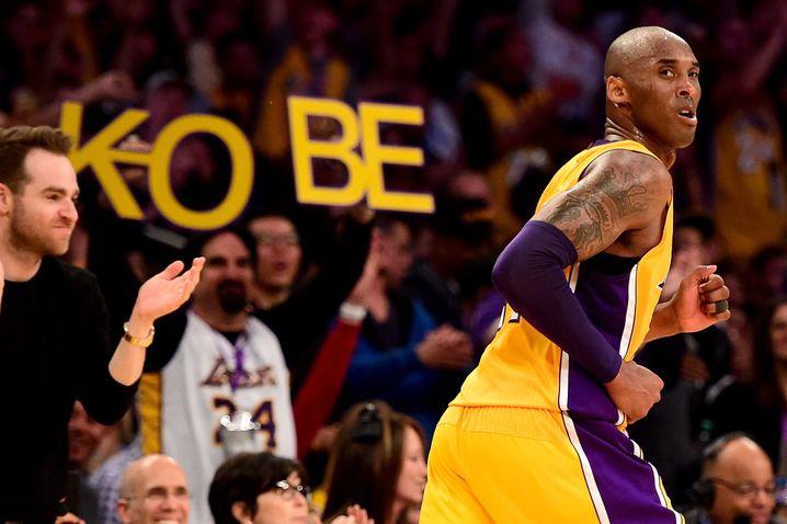 60 Punkte im letzten Spiel: Standesgemäßer Abgang von Kobe Bryant