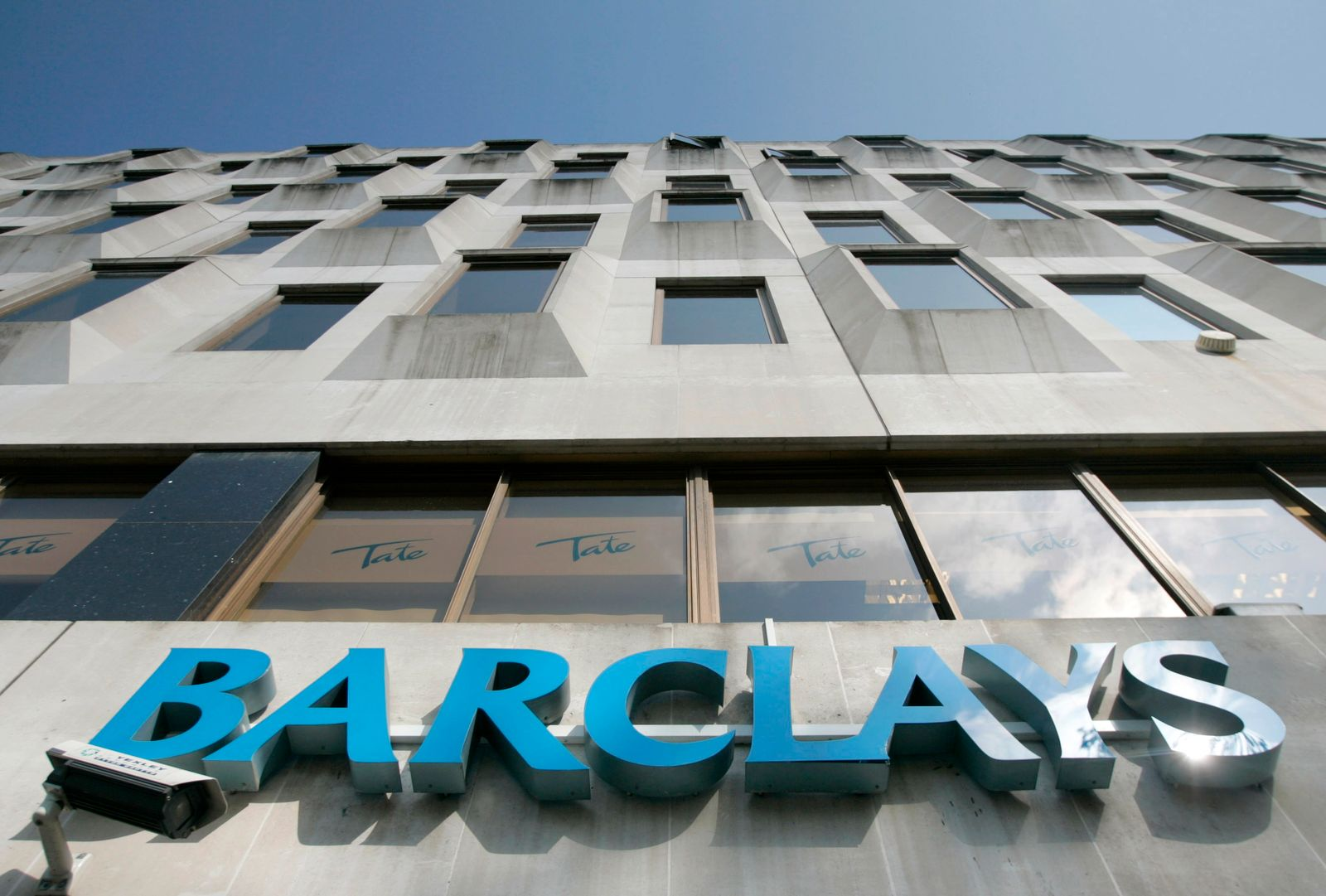 Barclays / Logo / Schriftzug