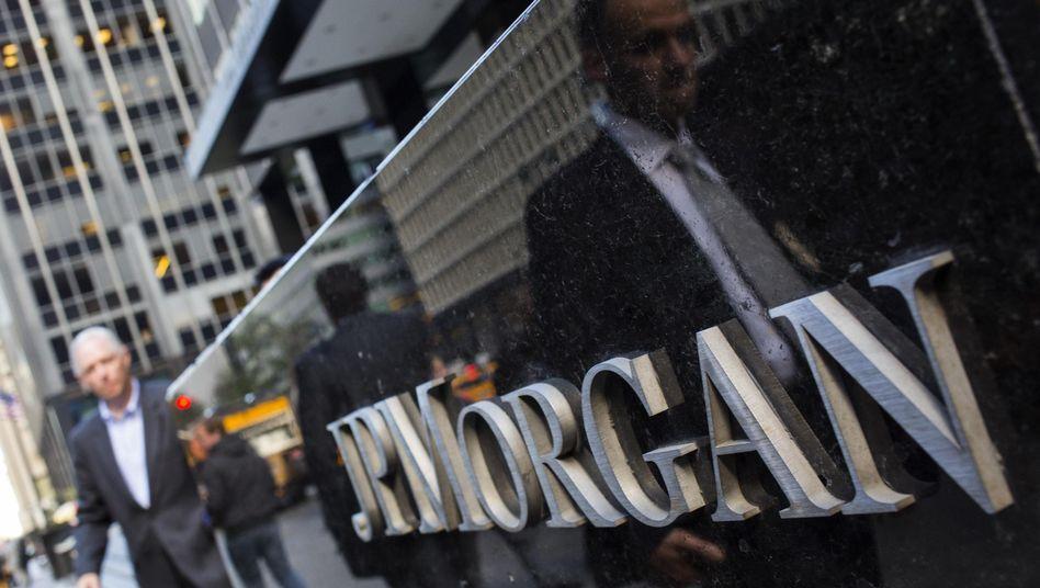 JP Morgan in New York