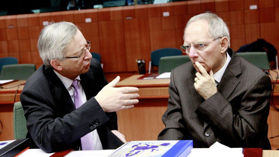 """Euro-Gruppenchef Juncker, möglicher Nachfolger Schäuble: """"Wenn Portugal und Luxemburg gemeinsam Bonds ausgeben wollen, viel Spaß"""""""