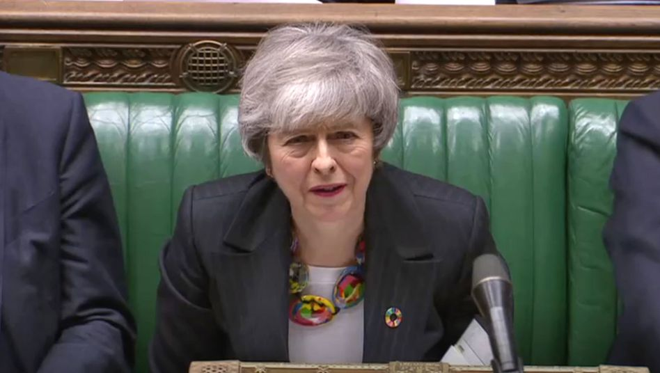 Brexit-Expertin Theresa May: Keep calm and carry on