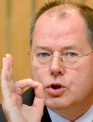 Kein frisches Geld aus seinem Budget: Peer Steinbrück