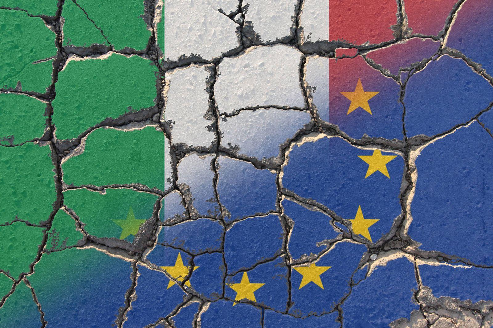 EINMALIGE VERWENDUNG Europa / Italien / Wahl