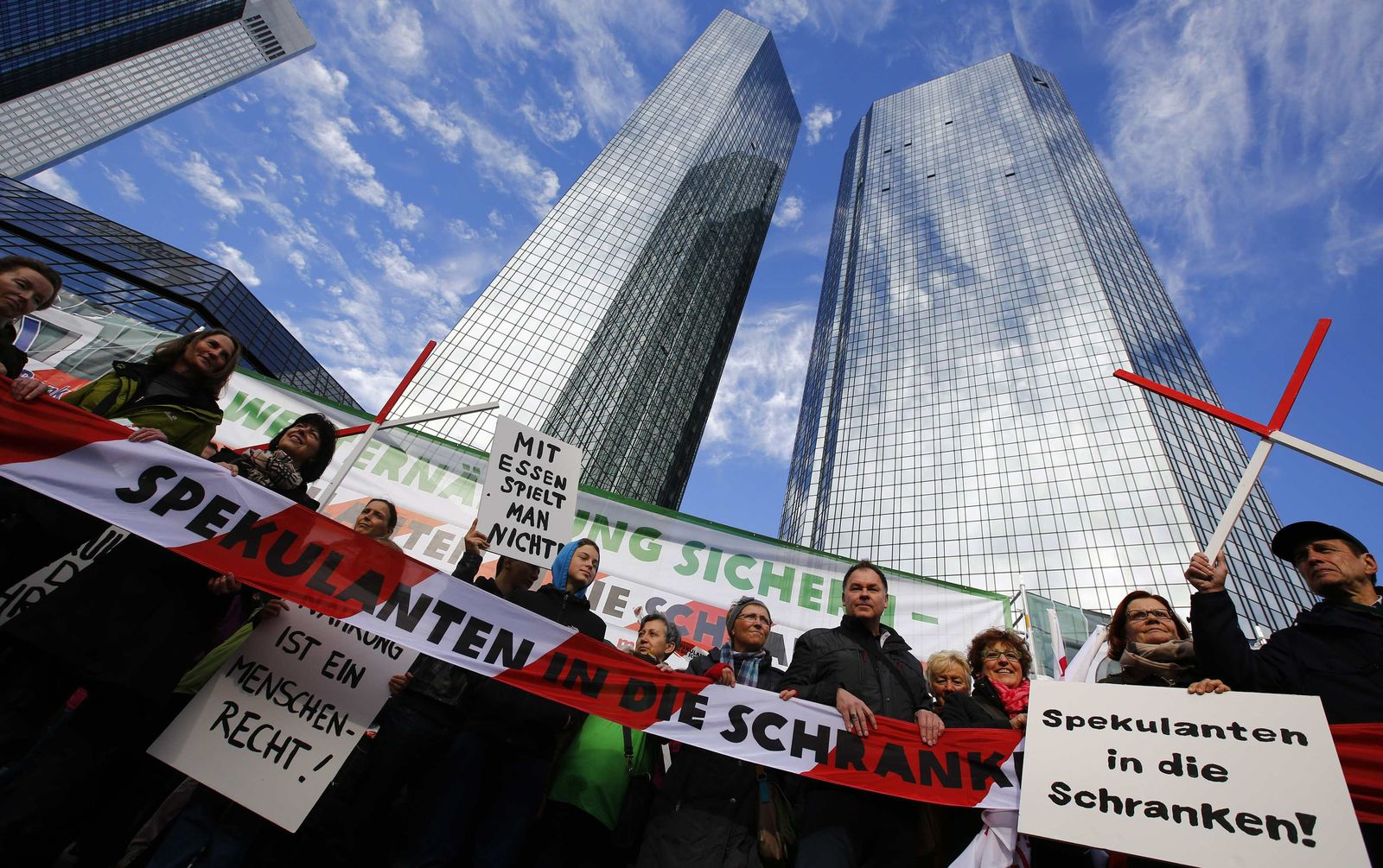 Oxfam / Demo Frankfurt