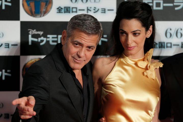 Glamour pur: Nicht jeder kann George Clooney sein. Nur George Clooney selbst hatte keine Wahl.