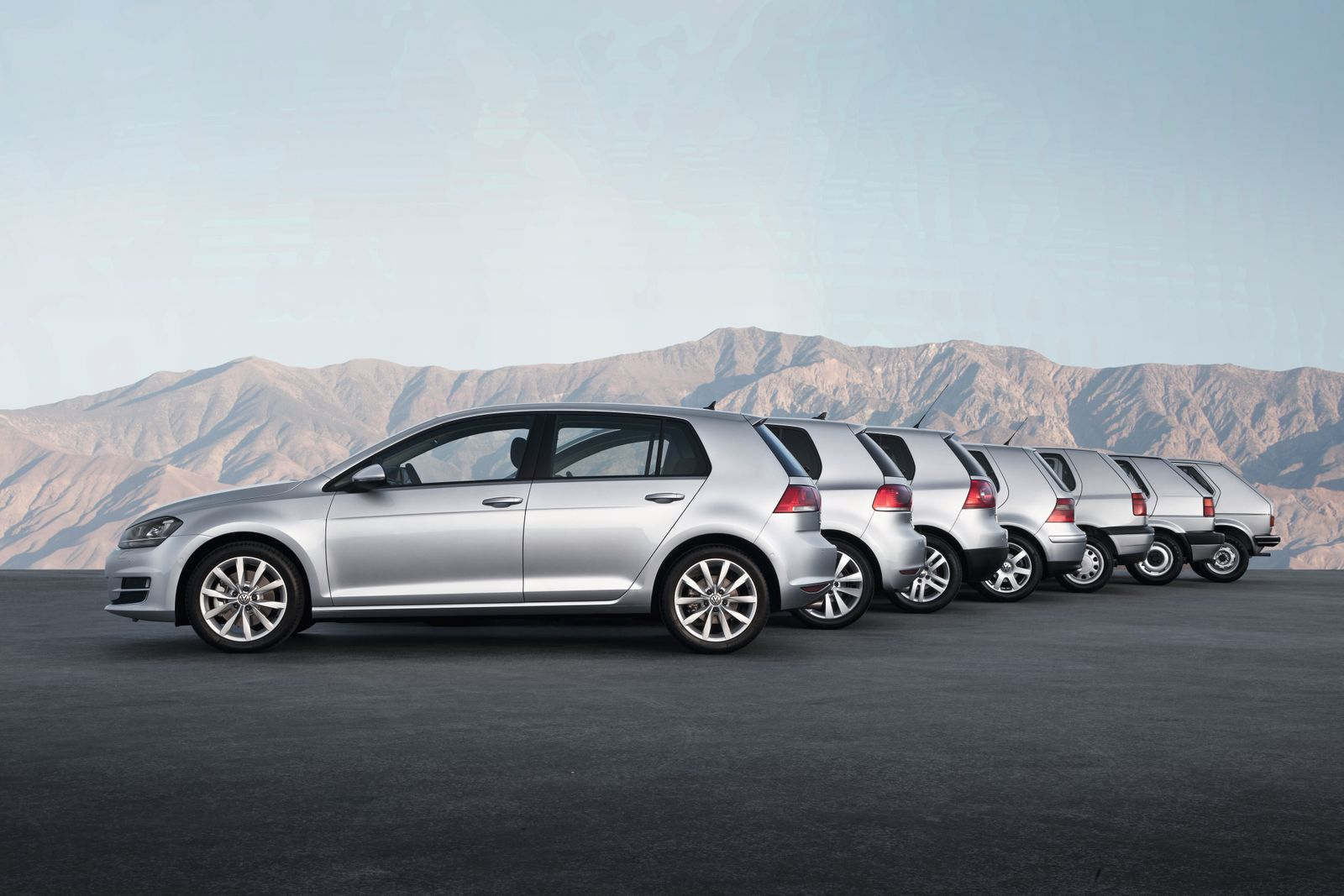 Volkswagen Golf - Generation one to seven