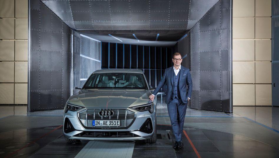 Ambitionierte Wachstumspläne: Audi-Chef Markus Duesmann