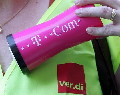 Lage spitzt sich zu: Verdi ließ am Mittwoch die Frist für die Annahme eines Telekom-Angebots verstreichen