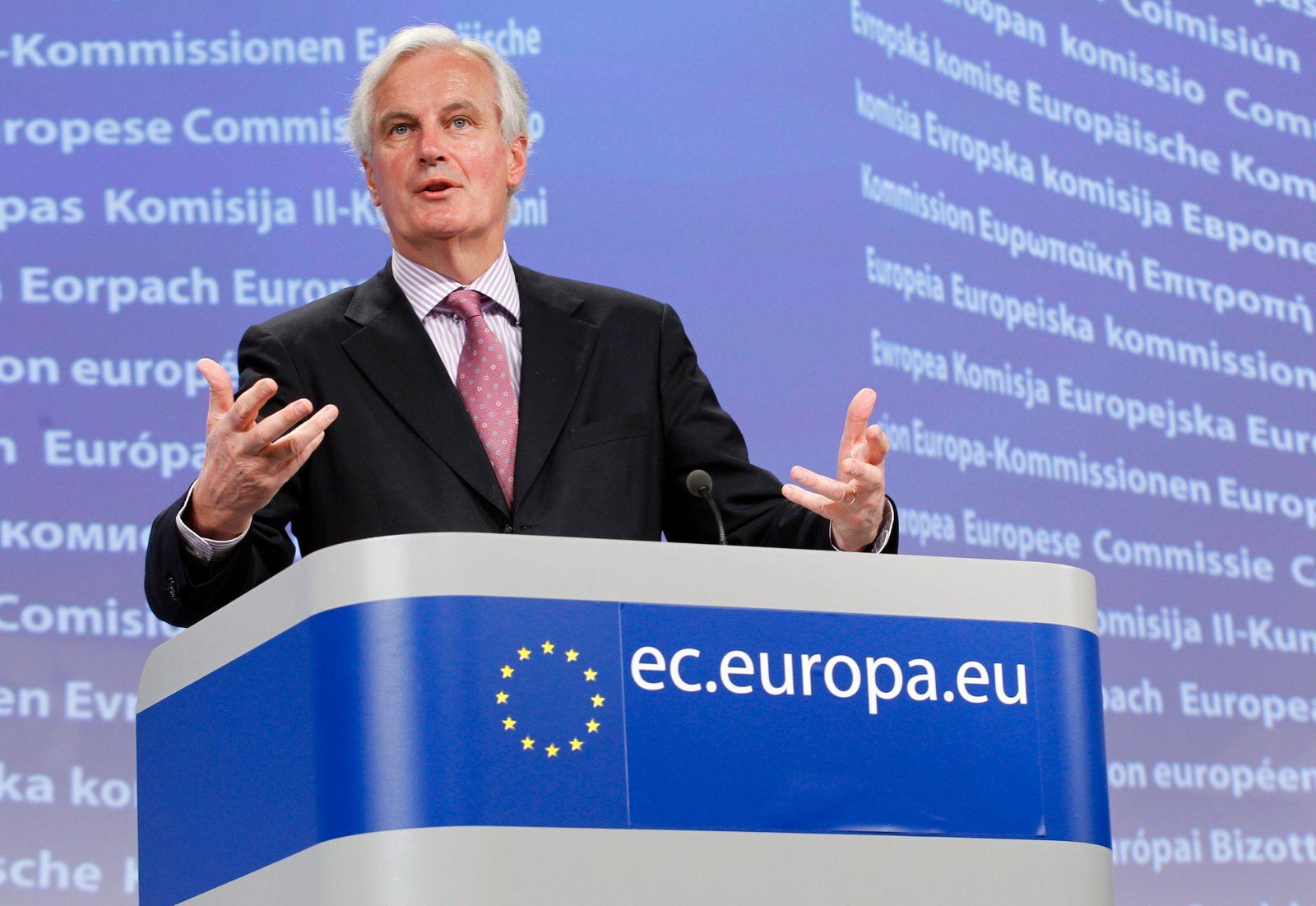 Michel Barnier / EU-Kommissar Binnenmarkt-Dienstleistungen