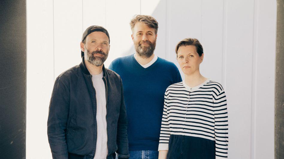"Drehen mit ""Star Wars""-Technologie: Baran bo Odar (l.), Philipp Klausing und Jantje Friese"