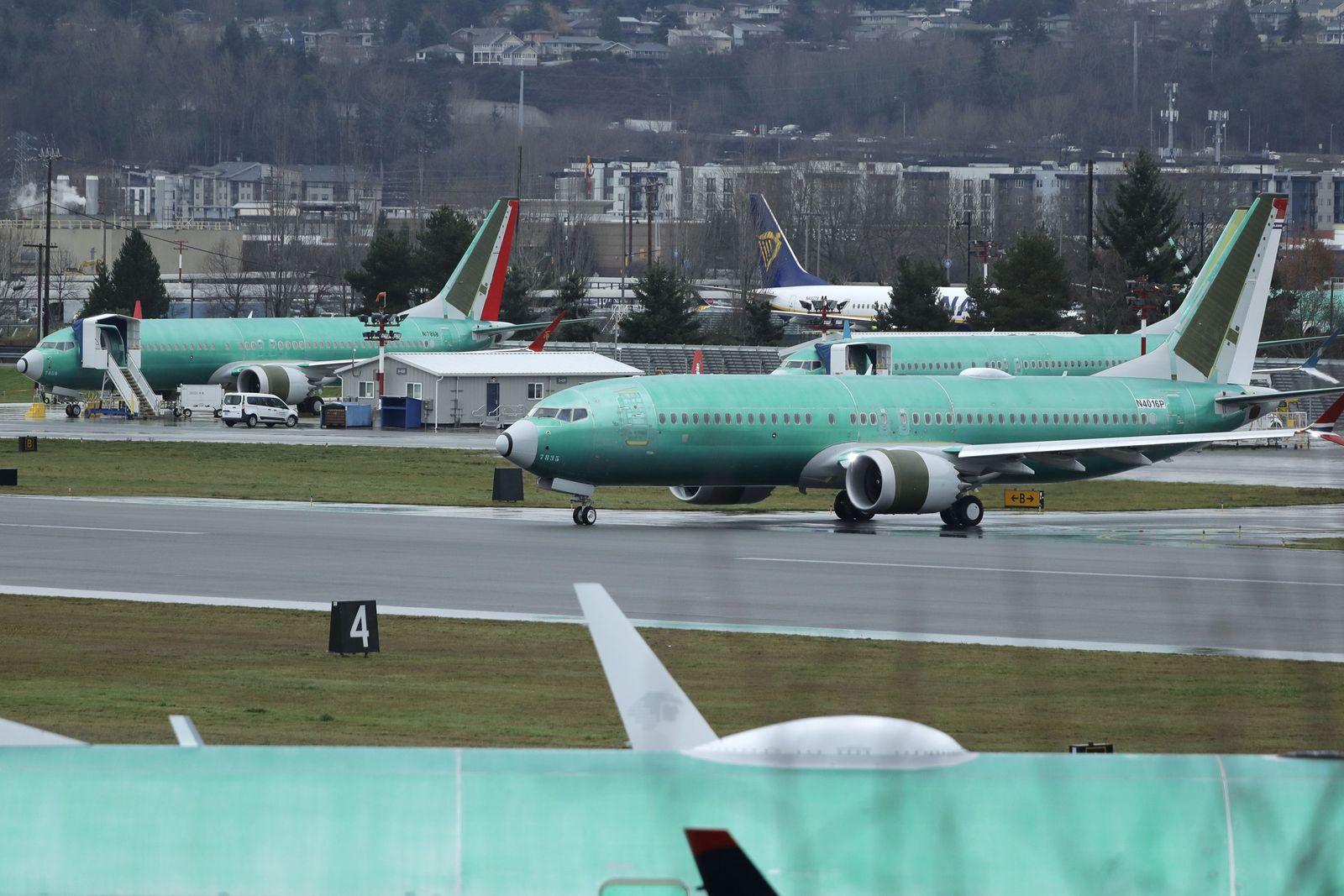 Boeing 737 MAX/ genaue Untersuchung