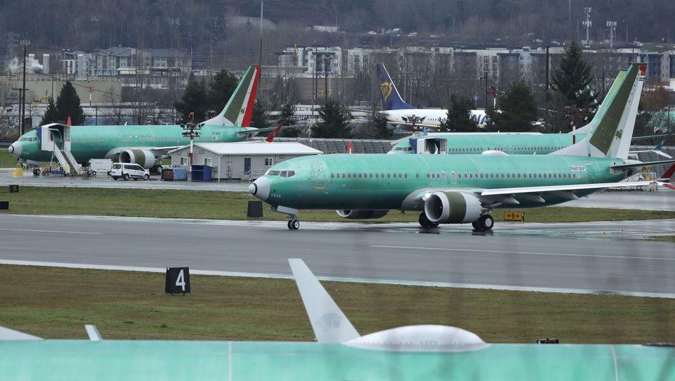 Eine Boeing 737 Max - gebaut für Norwegian Air. Die Airline storniert jetzt sämtliche Bestellungen bei dem US-amerikanischen Flugzeughersteller