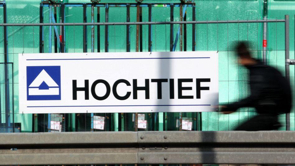Ausblick positiv: Die Auftragseingänge des größten deutschen Baukonzerns geben Grund zur Hoffnung