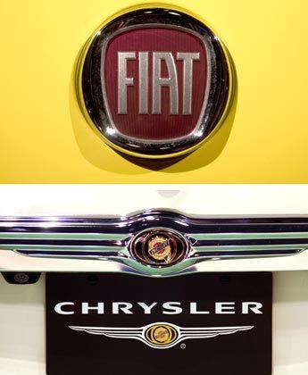 Allianz der Schwachen. Fiat beteiligt sich mit vorerst 20 Prozent an Chrysler