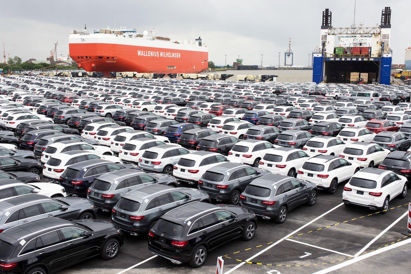Mercedes Export/ Wirtschaft