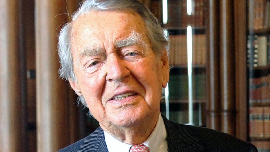 Verstorben: Berthold Beitz, Vorsitzender des Kuratoriums der Alfried Krupp von Bohlen und Halbach-Stiftung