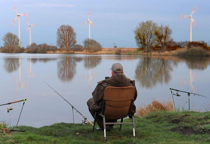 Geh doch mal angeln, Mann