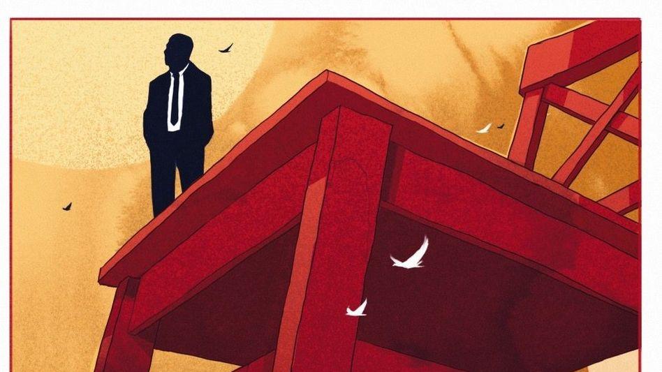 Markenzeichen: Vor fast jedem XXXLutz-Möbelhaus steht ein roter, bis zu 30 Meter hoher Stuhl. Firmenboss Seifert, einen stets korrekt gekleideten Mann, kennt fast niemand.