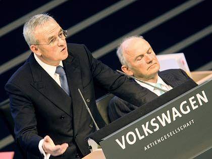 Was kommt noch? Die VW-Lenker Winterkorn und Piëch planen die Lkw-Allianz