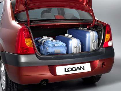 Für den Einkauf reicht's: Der Logan-Kofferraum bietet 510 Liter Stauraum