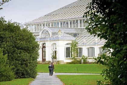 Majestätisch: Im königlichen botanischen Garten, den Kew Gardens, können Besucher Stunden über Stunden verbringen, ohne alles gesehen zu haben