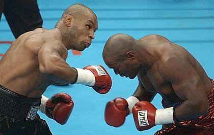 Kurz vor Knockout: Im Frühjahr schlug Tyson Clifford Etienne k.o.