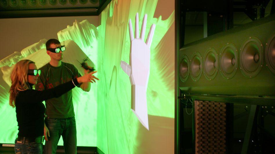 Klang in der dritten Dimension: Die Technische Universität Illmenau arbeitet mit einer der Entwicklungen des Soundtüftlers Karlheinz Brandenburg