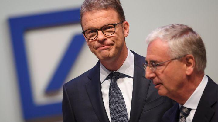 Drei Abgänge - und drei neue Vorstände: So baut die Deutsche Bank ihre Führung um