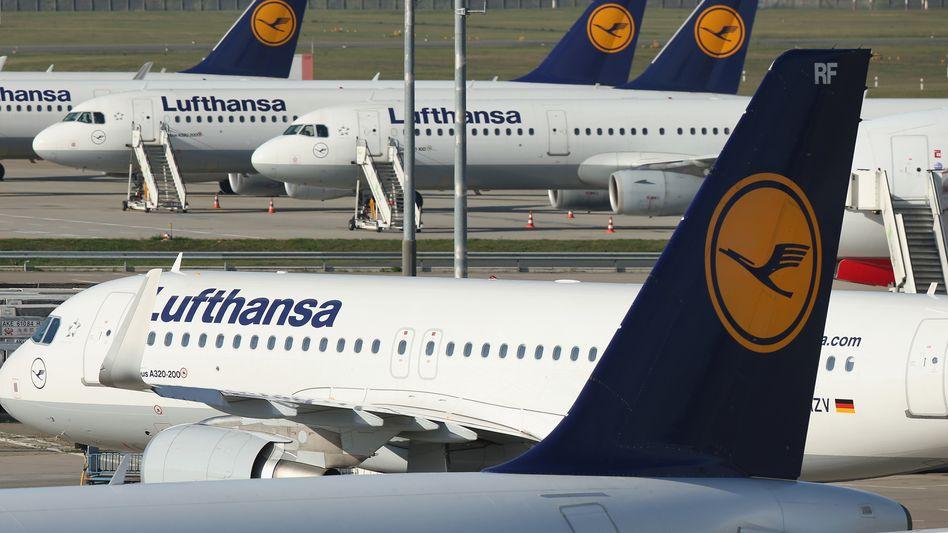Lufthansa-Maschinen: Kurz- und Mittelstrecken besonders betroffen