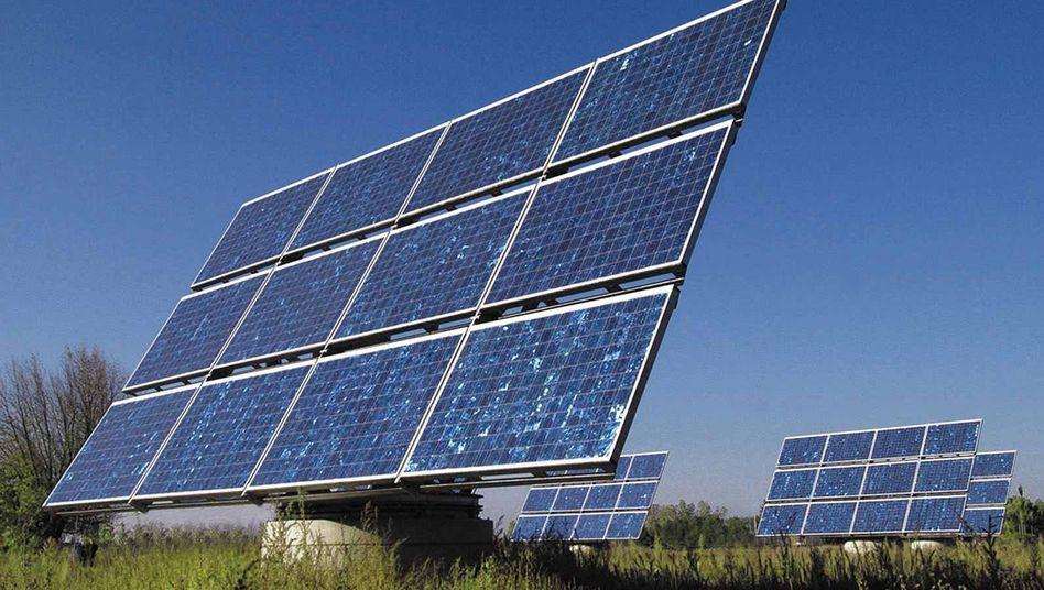 Solon-Solaranlage in der fränkischen Gemeinde Arnstein: Einst Weltspitze, heute insolvent