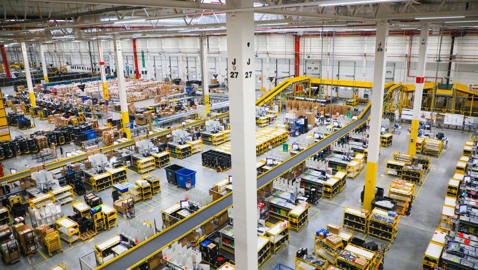 Amazon: Bei 22 Prozent soll sich die Eigenkapitalrendite einpendeln.