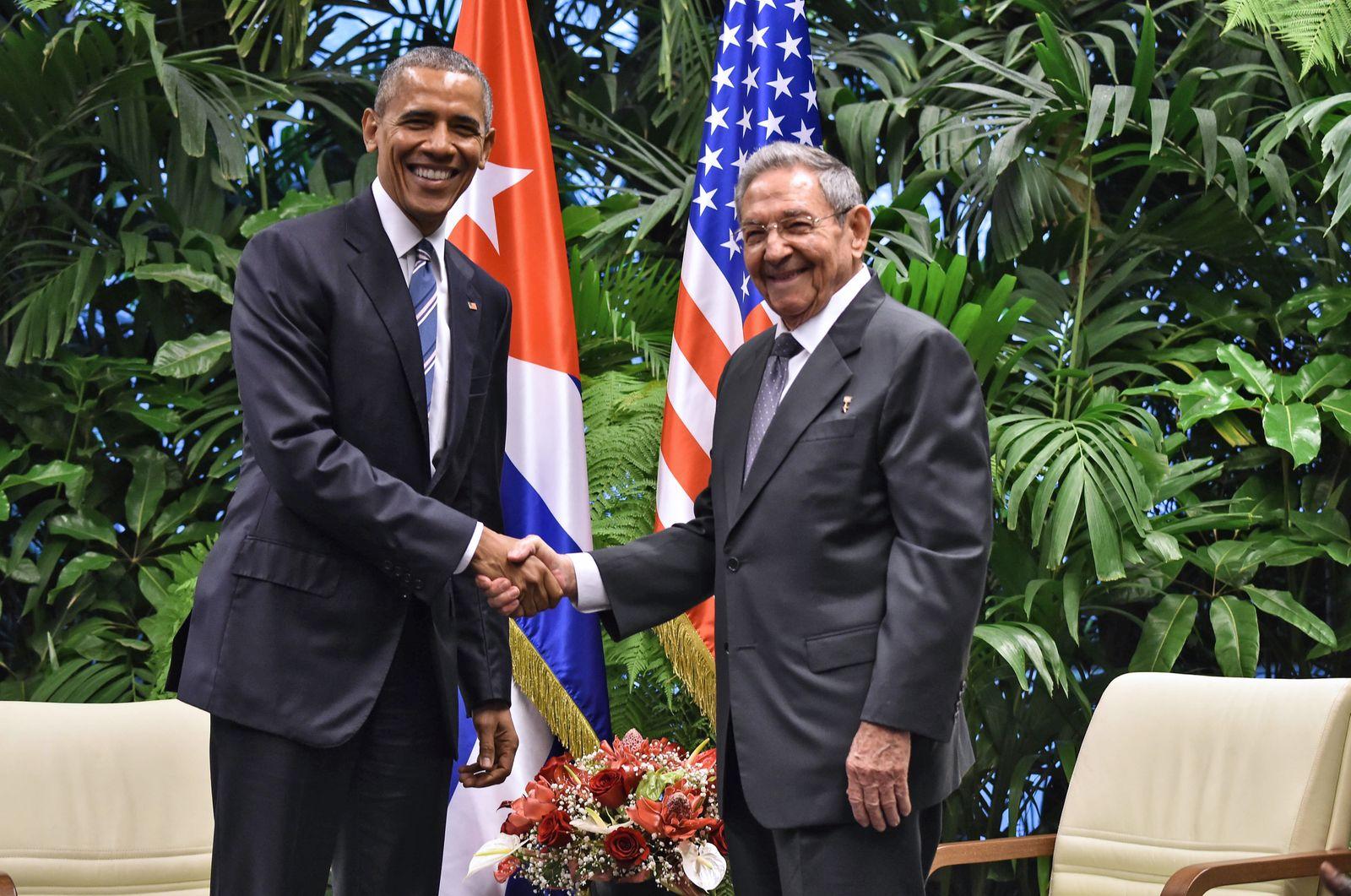 Obama / Castro / Kuba