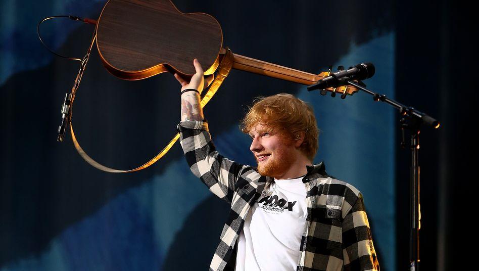 Warner-Künstler Ed Sheeran: Der Musikverlag geht in New York erneut an die Börse.
