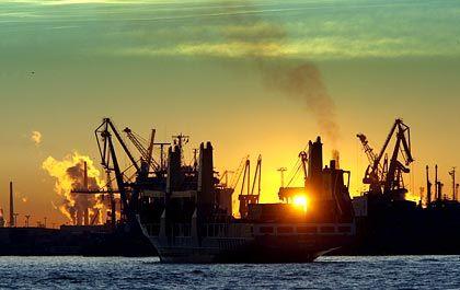 Umschlagplatz: Hamburger Hafen