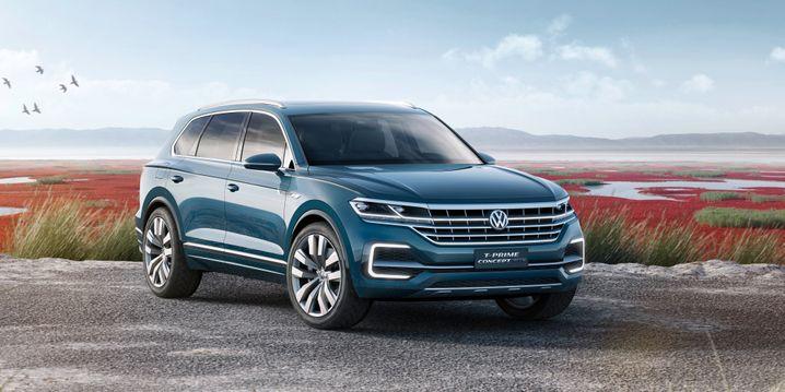 VWs SUV-Studie T-Prime Concept GTE: So ähnlich dürfte der neue VW Touareg aussehen